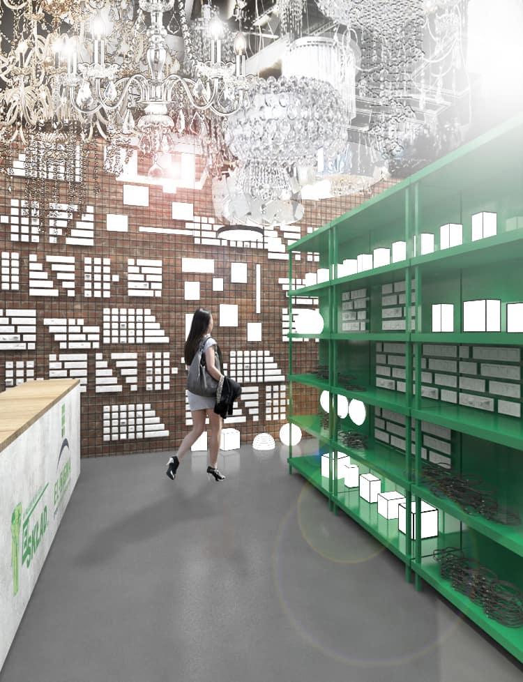 Wizualizacja i projekt Ewelina Pałajska architekt wnętrz